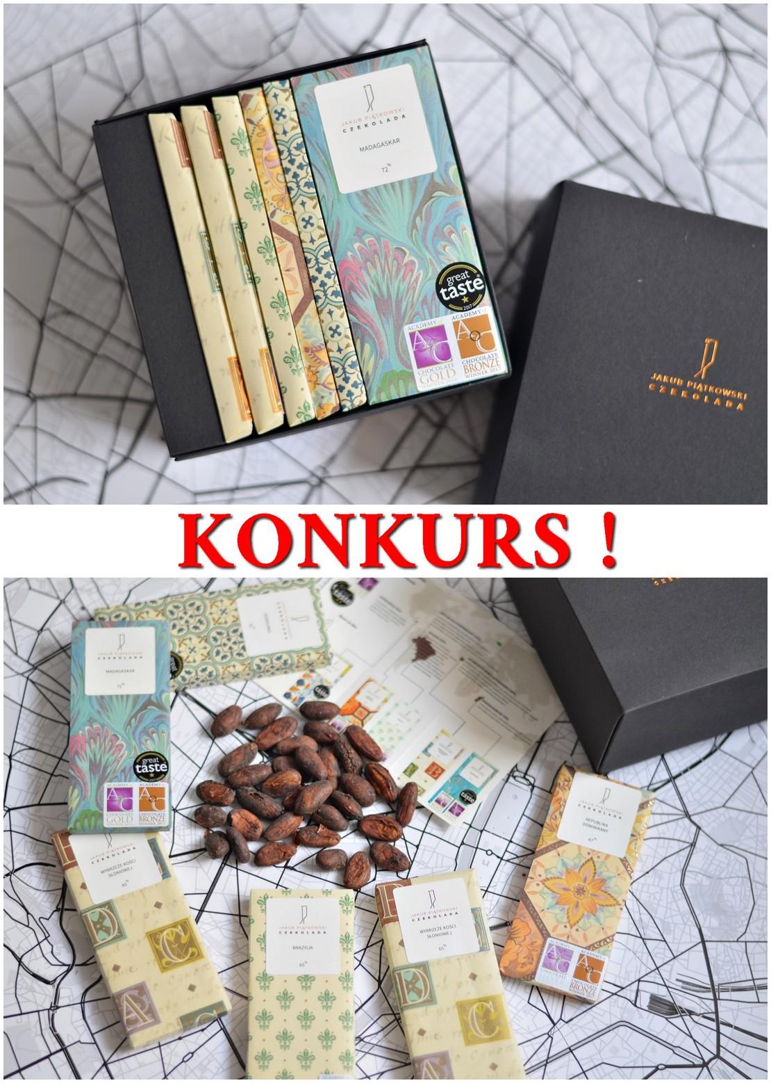 Konkurs! Wygraj BOX czekolad - Jakub Piątkowski Czekolada