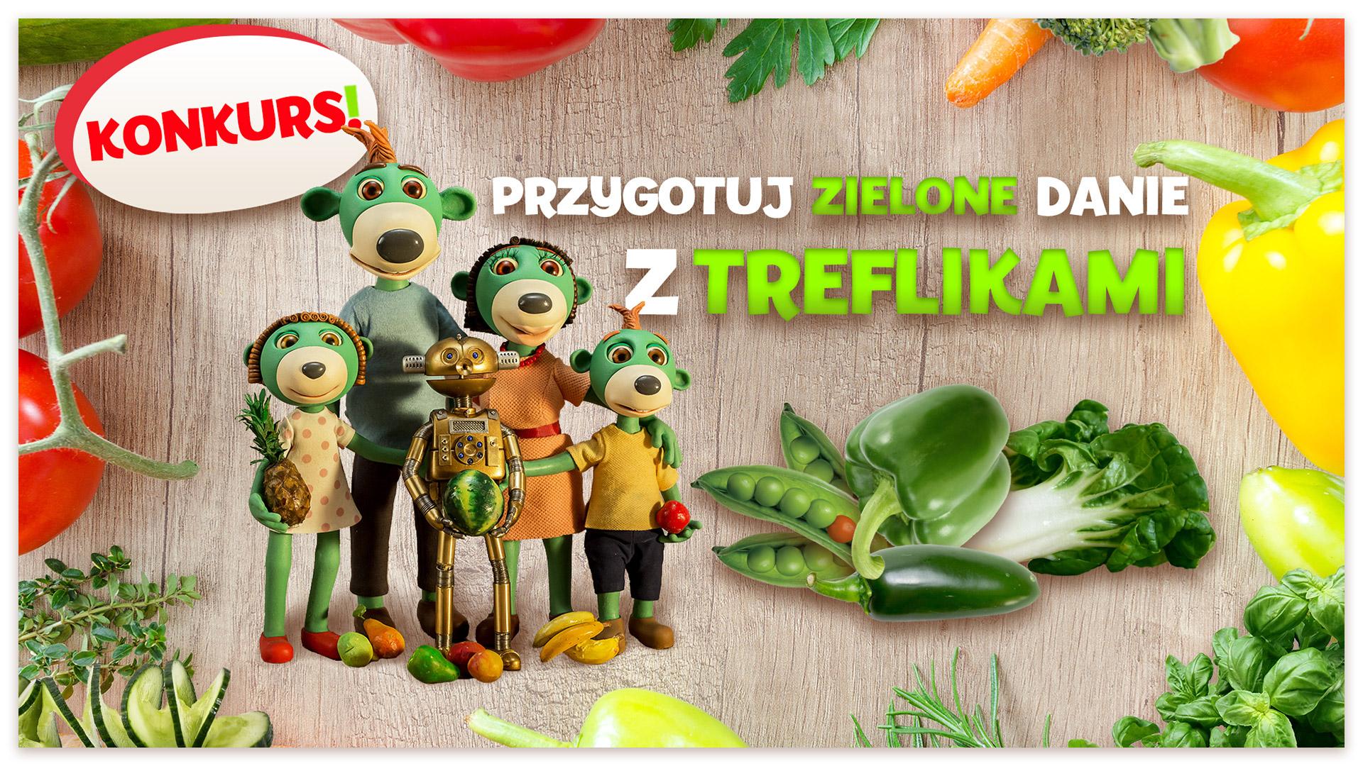 Konkurs Zielony Przepis z Treflikami