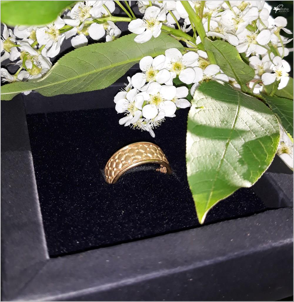 Pozłacana obrączka Chesterfield Gold z kolekcji Kohha Elegance (1)