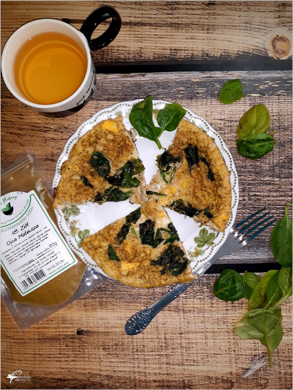 Prosty omlet ze szpinakiem (3)
