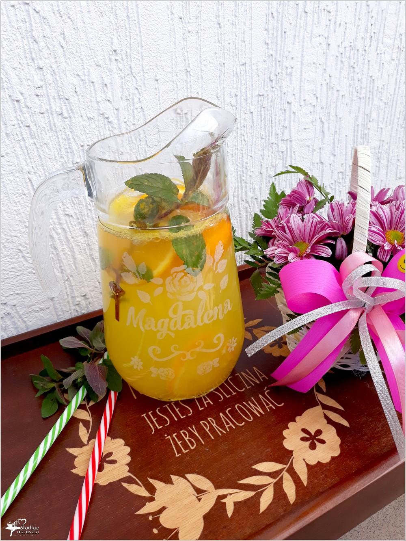 Domowy napój pomarańczowy (orzeźwiający) i dlaczego warto zajrzeć do MyGiftDNA (1)