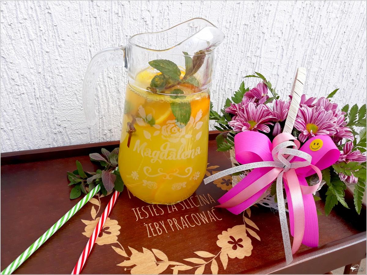 Domowy napój pomarańczowy (orzeźwiający) i dlaczego warto zajrzeć do MyGiftDNA (2)