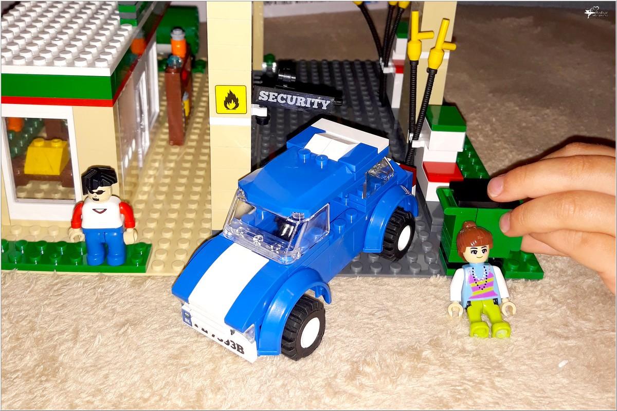 Klocki Blocki MyCity Stacja Paliw (1)