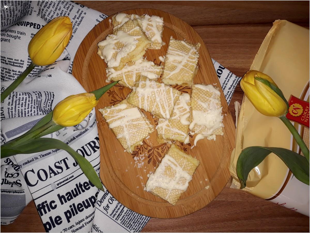 Małe wafelki rafaello (1)