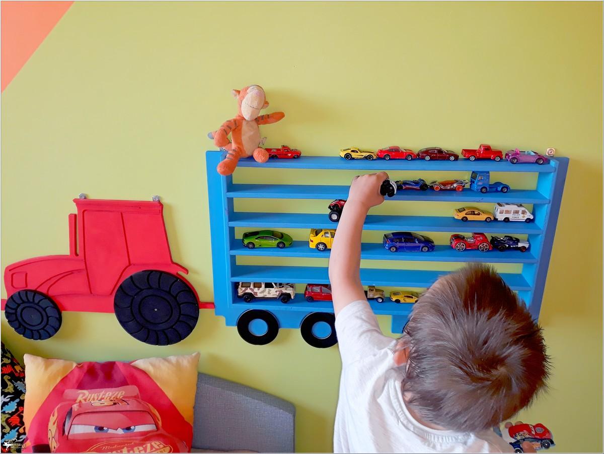 Półka, która zachwyci każdego chłopca (1)