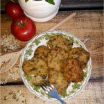 Ryżowo pieczarkowe kotleciki