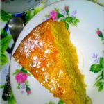 Złote ciasto bananowe (na kukurydzianej mące)