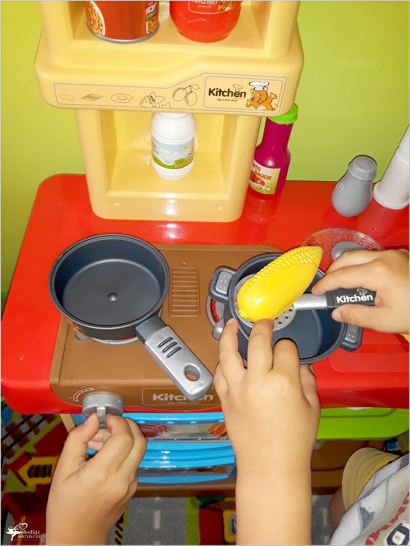 Dzieci gotują. Interaktywna Kuchnia My Little Chef Made