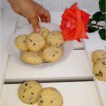 Kruche nakrapiane ciasteczka