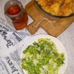 Zielona surówka do obiadu