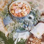 Świąteczna kawa piernikowa z piankami