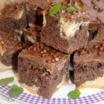 Ciasto piernikowe w łaty