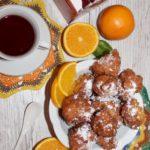 Jogurtowe mini pączki z nutą pomarańczy