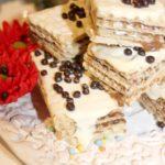 Kawowe wafle – wafle z masą kawową