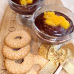Mocno czekoladowy deser z mango – najłatwiejszy