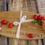 Wyjątkowa deska od ARMEN – idealna do serwowania przekąsek, ciast, idealna na prezent