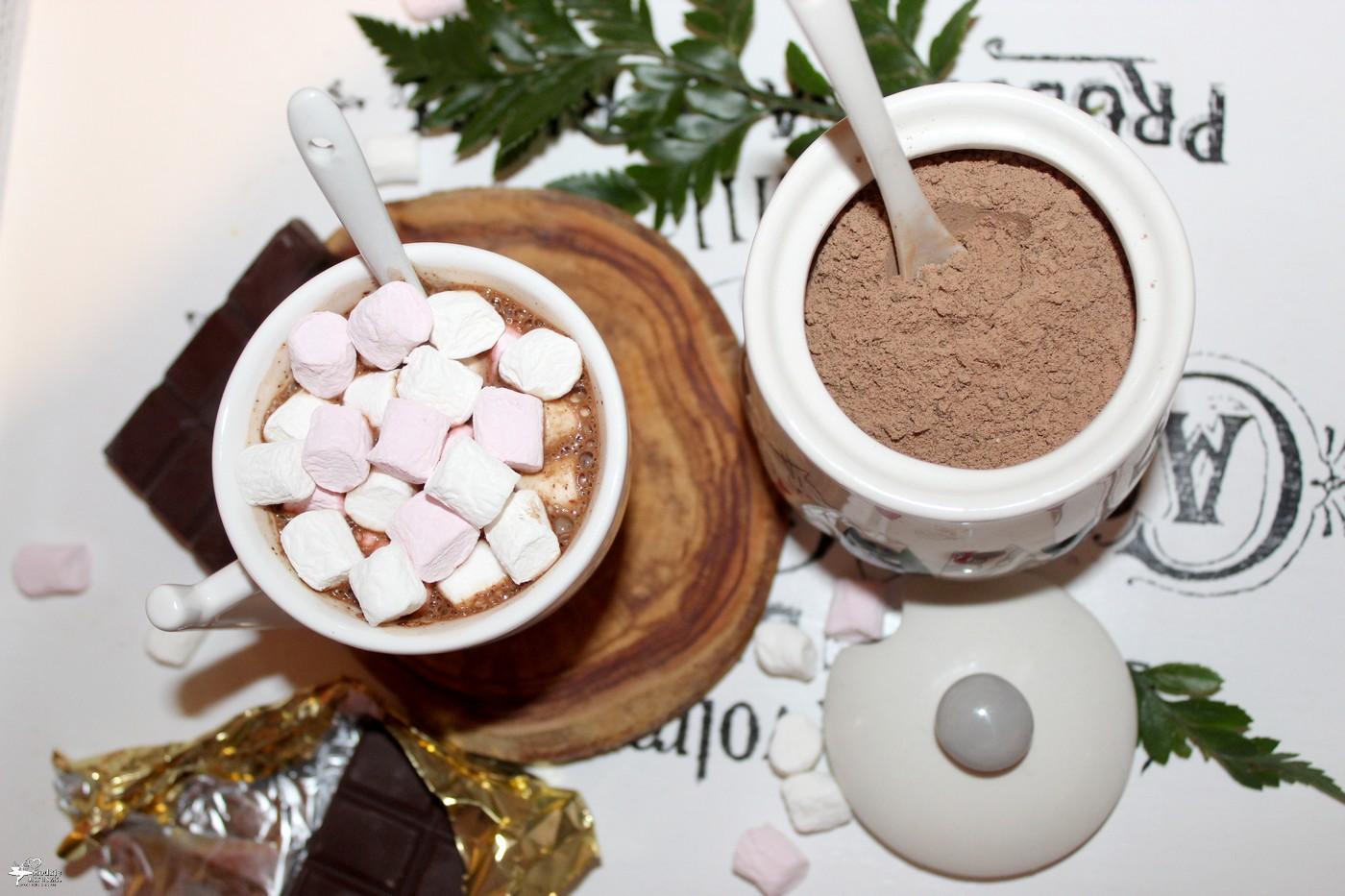 Domowa gorąca czekolada w proszku Przepis na gorącą czekoladę