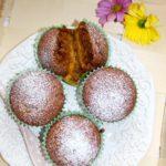 Babeczki z mango i kokosową nutą