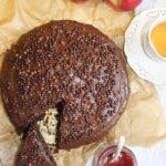 Murzynek z dżemem – ciasto mieszane łyżką