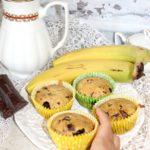 Bananowe babeczki pieguski