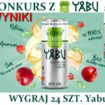 Wyniki konkursu z Yabu Natural Energy Drink