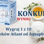 Wyniki konkursu z Aquaphor