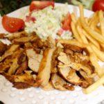 Domowy kebab z piekarnika i szybka surówka