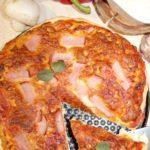 Prosta pizza z minimalnej ilości składników