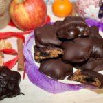 Nadziewane pierniczki w czekoladzie