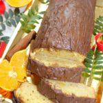 Szybkie ciasto z pomarańczową nutą
