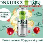Sprawdź kto wygrał zestawy od Yabu Natural Energy Drink