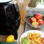 Aromatyczny kurczak i frytki z frytkownicy beztłuszczowej ZEEGMA Knapper