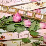 Bombonierki w kształcie róży z pralinami Panna Cotta i Coffe&Cream – idealne na Dzień Kobiet i nie tylko