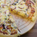 Prosta ziołowa pizza z szynką