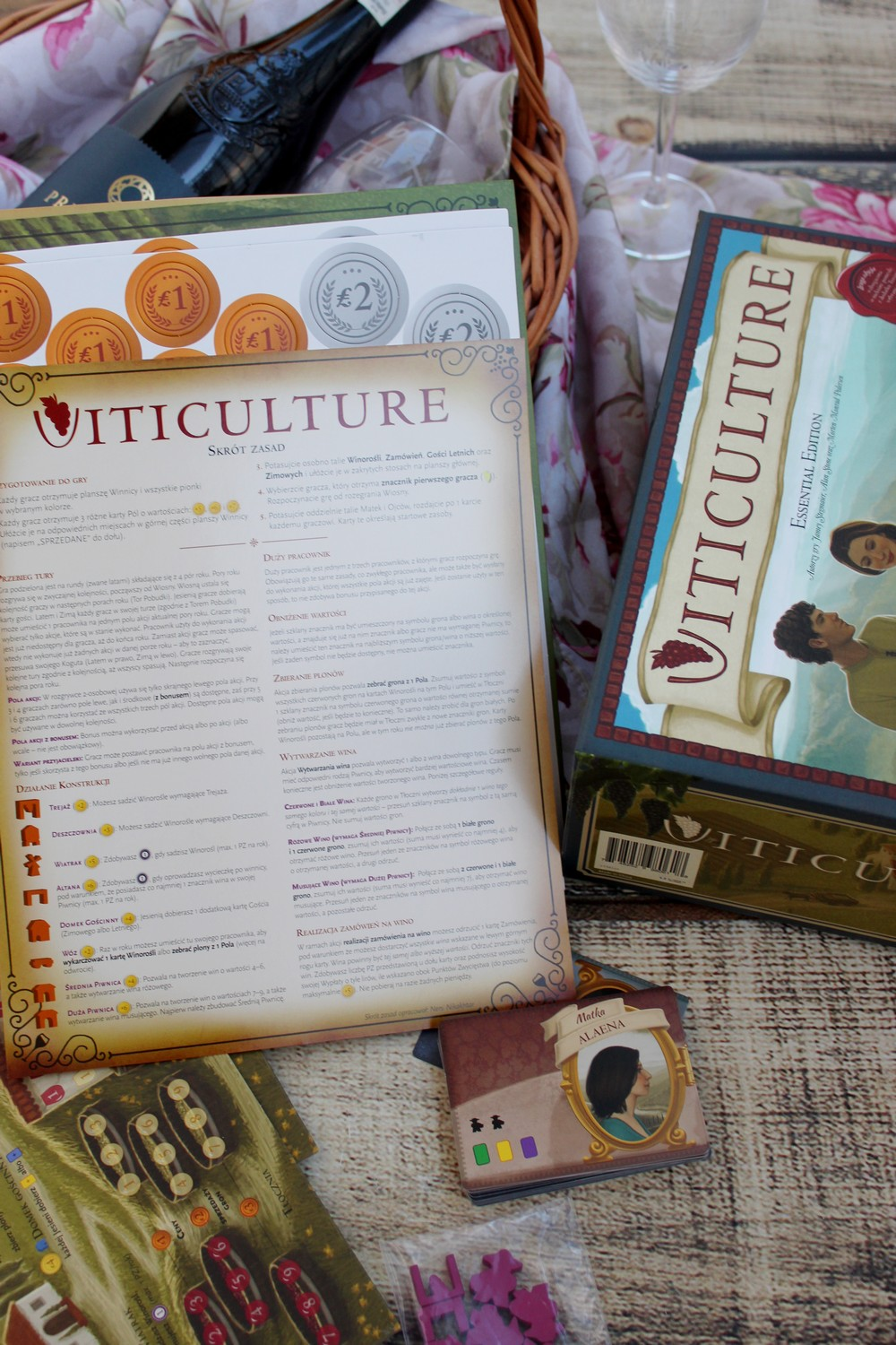 gra strategia Viticulture