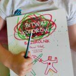 Bitwa kolorów + Bazgrolnik Herve Tullet – recenzja