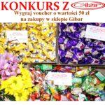 Słodki konkurs z Gibar – wygraj voucher na zakupy