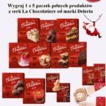 Mikołajkowy konkurs! Wygraj 1 z 5 paczek pełnych produktów z serii La Chocolatiere od marki Delecta