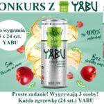 Wygraj 1 z 3 zgrzewek po 24 szt Yabu Natural Energy Drink Wygrywają 3 osoby