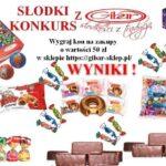 Wyniki słodkiego konkursu z Gibar