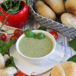 Lekka pietruszkowo-pieczarkowa zupa krem