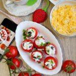 Nadziewane pomidorki – na śniadanie lub przekąskę