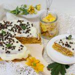 Baton a la ciasto na płatkach kukurydzianych