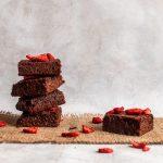 Białkowe ciasto czekoladowe