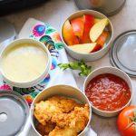 Chrupiące polędwiczki z kurczaka i recenzja termosu obiadowego Zojirushi