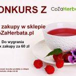 Wygraj zakupy w sklepie CoZaHerbata