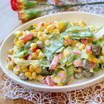 Sałatka do obiadu – szybka i pyszna